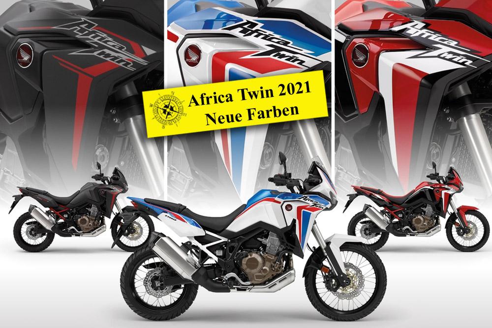 Honda Africa Twin CRF1100 –  Jahr 2021