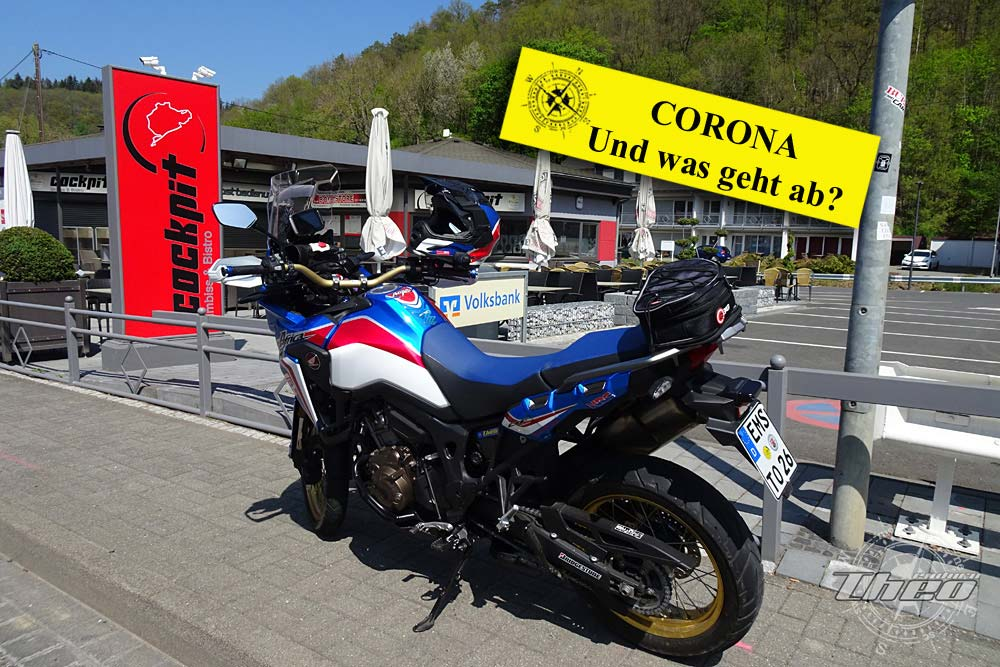 Motorradtour in Zeiten von Corona