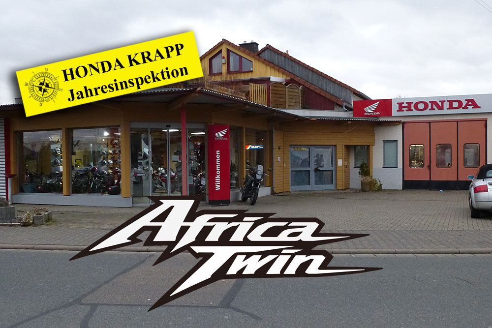 Honda Africa Twin Jahresinspektion