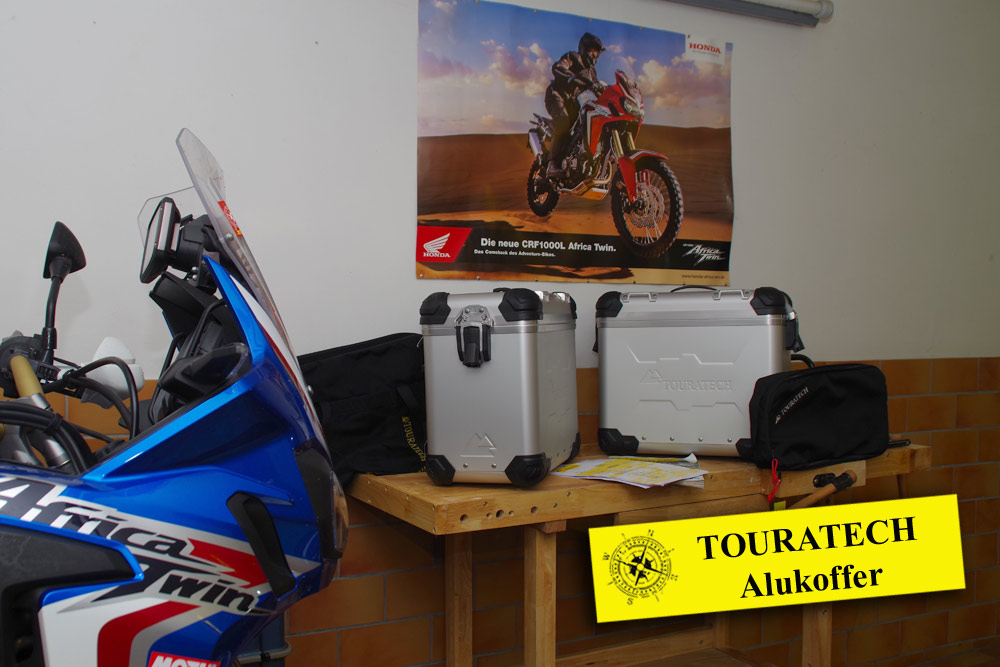 "Touratech ZEGA Evo X Sondersystem ""And-S"" – Honda Africa Twin CRF1000L"