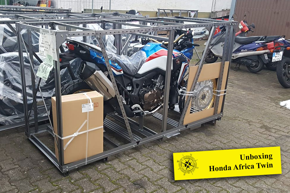 Unboxing Africa Twin