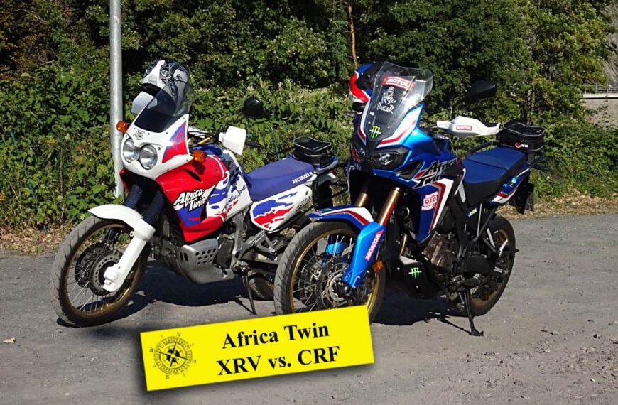 CRF1000L vs XRV750