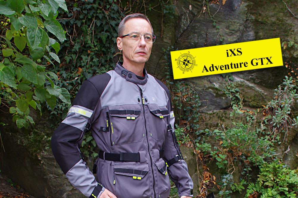 iXS Tour Adventure-GTX – GORE-TEX Textil Kombi