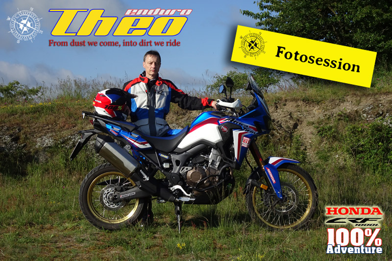 Fotosession Honda Africa Twin