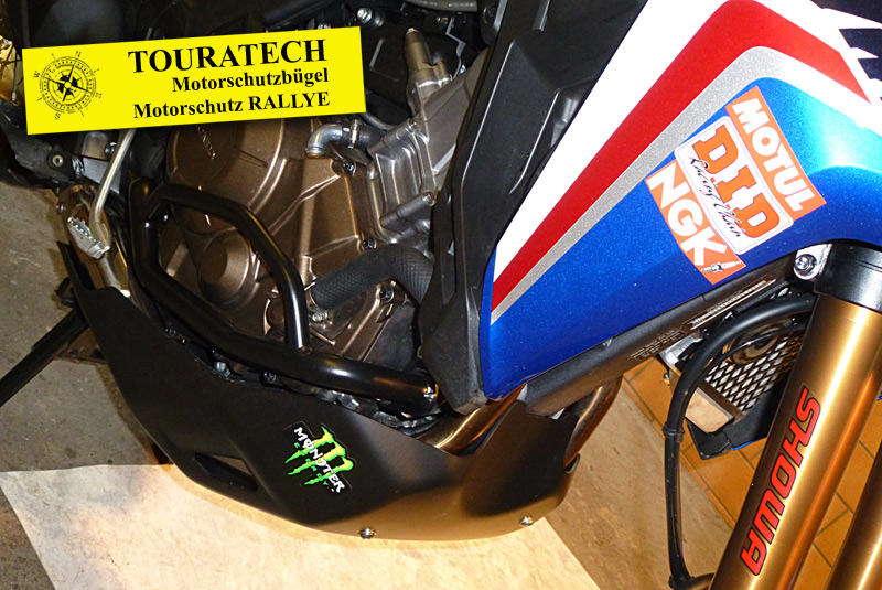 Touratech Motorschutz RALLYE und Motorschutzbügel