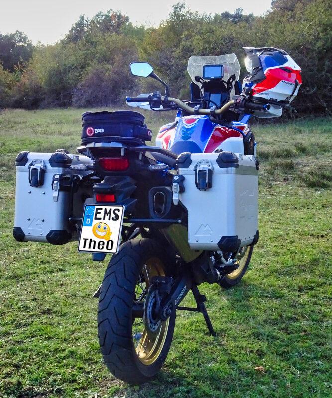 Honda Africa Twin mit Touratech ZEGA EVO X Koffer