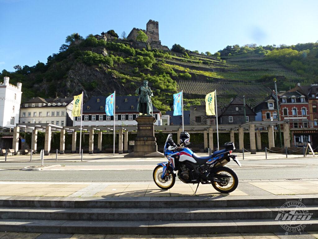 Burg Gutenfels bei Kaub