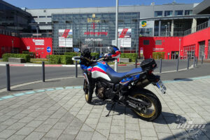 Africa Twin - Theo Enduro am Nürburgring