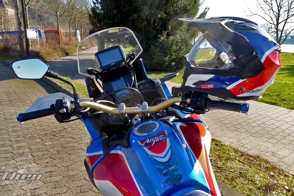 Africa Twin mit TomTom Navigation