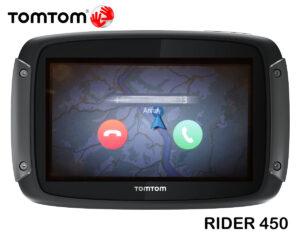 Anrufsignalisierung am TOMTOM RIDER 450