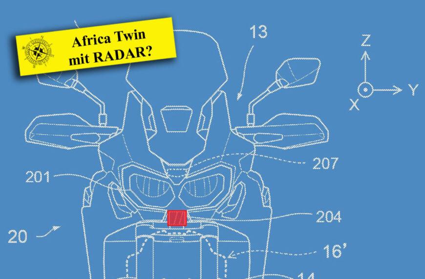 Radar für Honda Africa Twin