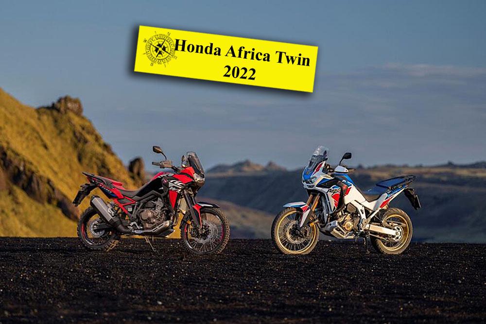 Honda Africa Twin CRF1100L im Jahr 2022